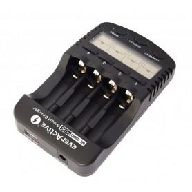 EverActive - EverActive NC-1000 PLUS Professionele Batterijen Lader BL138 - Batterijladers - BL138-C www.NedRo.nl