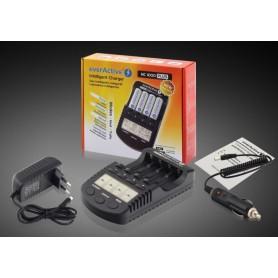 EverActive - EverActive NC-1000 PLUS Professionele Batterijen Lader BL138 - Batterijladers - BL138 www.NedRo.nl
