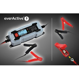 EverActive - everActive CBC-4 auto acculader - Batterijladers - BL123 www.NedRo.nl
