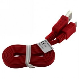 OTB - Micro USB Data Cable Ultra Flat - USB to Micro USB cables - ON074 www.NedRo.us