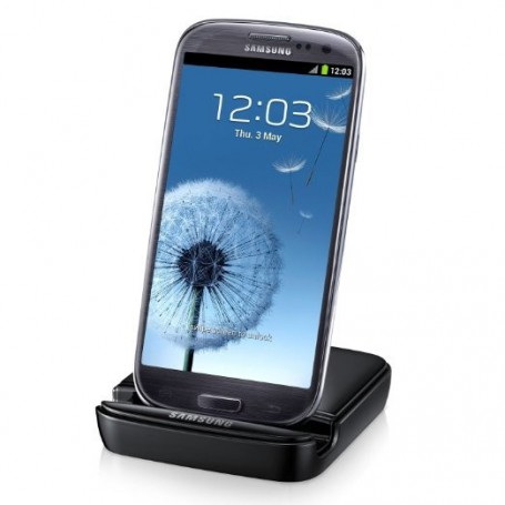 Samsung, Stand and Battery Charger compatible with Samsung Galaxy S III I9300, Ac charger, NK996