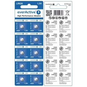 everActive AG4 G4 LR626 LR66 BL166 1.5V Alkaline horloge knoopcel batterij
