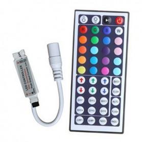 Mini RGB LED IR Remote Controller 48 buttons + cabinet AL742