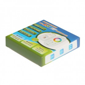 NedRo - 2.4G RF DC12-24V RGBW LED Wireless Remote Control AL368 - LED Accessories - AL368 www.NedRo.us