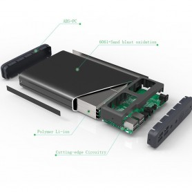 PowerOak, PowerOak K2 PowerBank 185Wh 50000mAh, Powerbanks, OAKK2, EtronixCenter.com