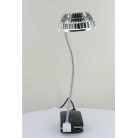 USB Mini LED Lampje Zilver 05077