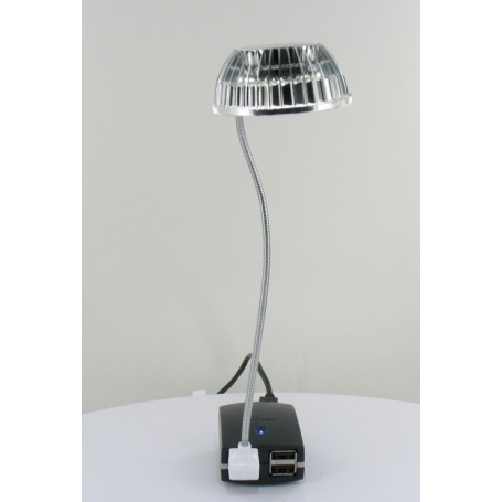 NedRo, USB Mini LED light Silver 05077, Computer gadgets, 05077