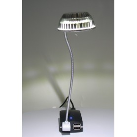 NedRo, USB Mini LED light Silver 05077, Gadget-uri computer, 05077, EtronixCenter.com