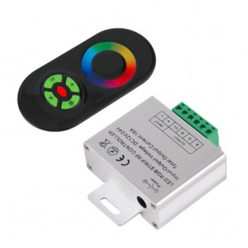 NedRo, RF Touch Controller and Remote Black for RGB LEDstrip AL265, LED Accessories, AL265, EtronixCenter.com