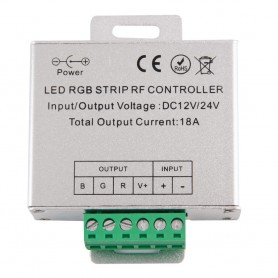 NedRo - RF Touch Controller and Remote Black for RGB LEDstrip AL265 - LED Accessories - AL265 www.NedRo.us
