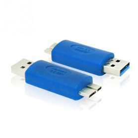 NedRo - USB 3.0 Male naar Micro USB Male B Adapter AL197 - USB adapters - AL197 www.NedRo.nl
