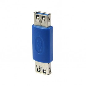 NedRo, USB 3.0 Adapter Female naar Female AL658, USB adapters, AL658, EtronixCenter.com