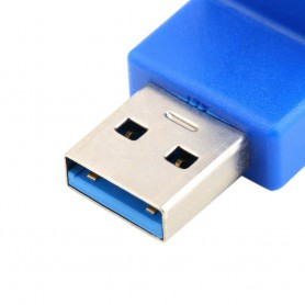 NedRo - Adaptor USB 3.0 Type A Male la Female Angle UP AL660 - Adaptoare USB  - AL660 www.NedRo.ro