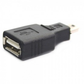 Oem - USB A Female to Mini USB B 5 Pin M Adapter Converter AL012 - USB adapters - AL012