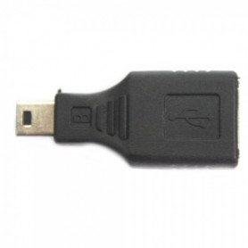 NedRo, USB A Female to Mini USB B 5 Pin M Adapter Converter AL012, USB adapters, AL012, EtronixCenter.com