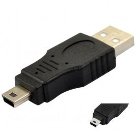 USB A Male to Mini USB 5 Pin Adapter AL128