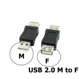 Oem - USB 2.0 A Female - Male Adapter - USB adapters - AL848