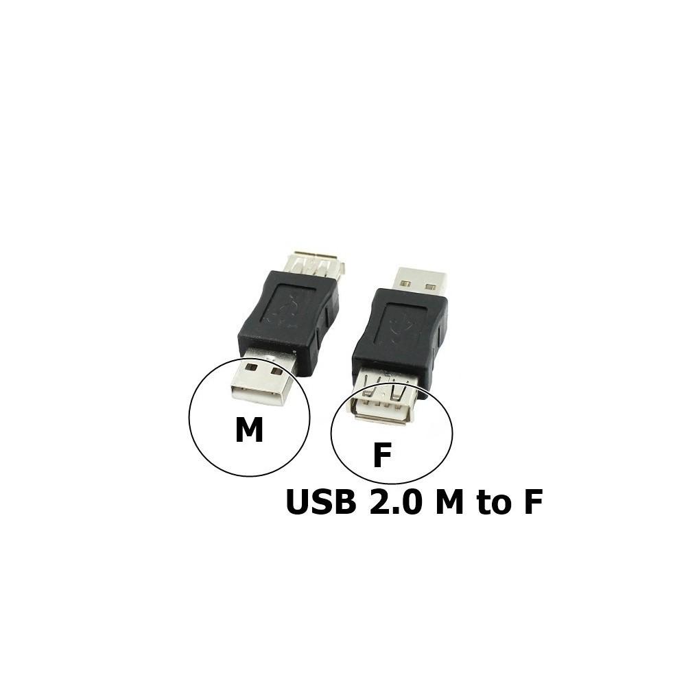 NedRo - Adaptor USB 2.0 A Female - Male - Adaptoare USB - AL848 www.NedRo.ro