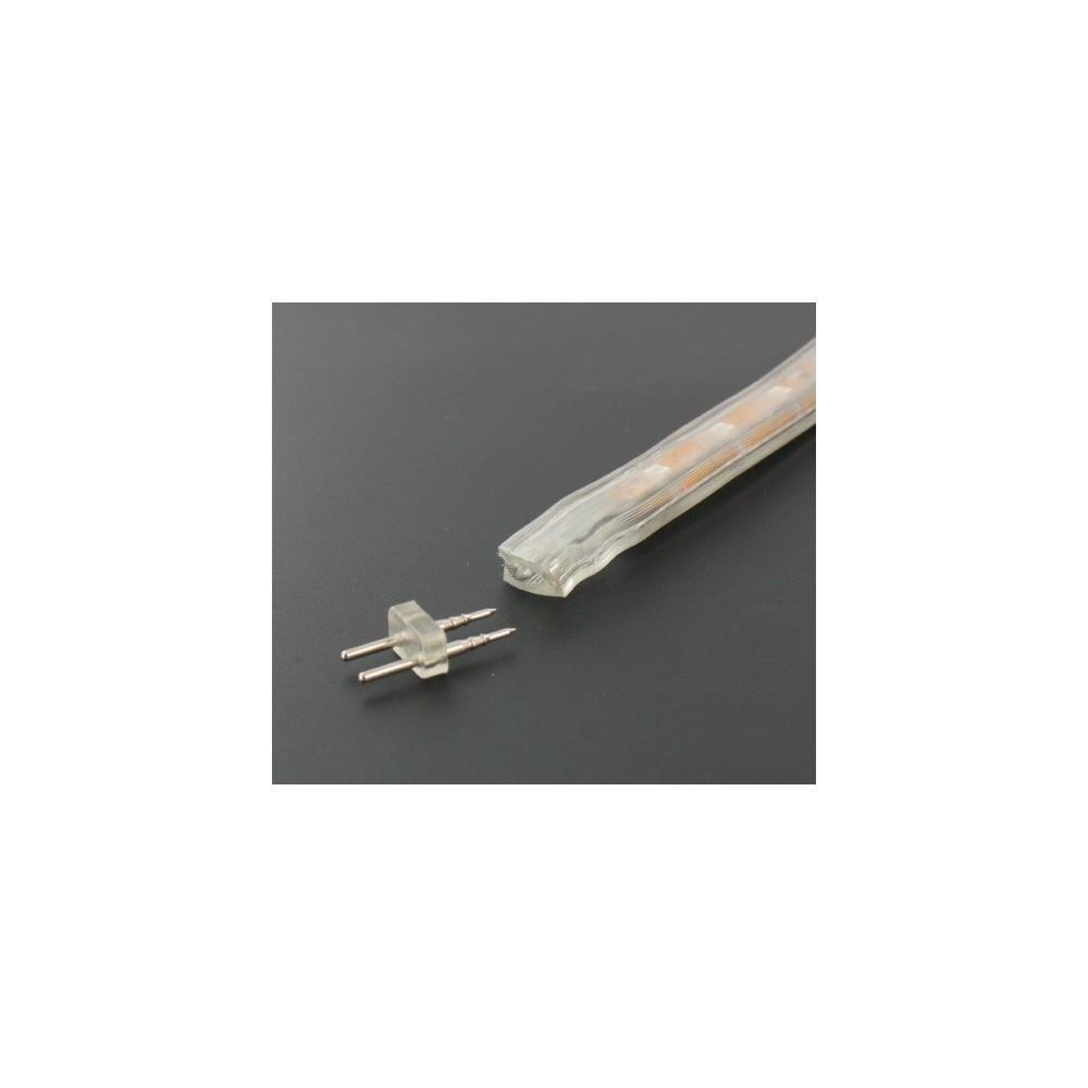NedRo - Male to Male connector voor High Voltage LED strips 05047-3 - LED connectors - 05047-3 www.NedRo.nl