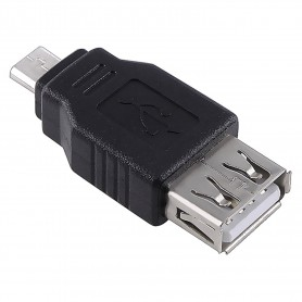 NedRo - USB 2.0 Female naar Micro USB Male Adapter AL565 - USB adapters - AL565 www.NedRo.nl