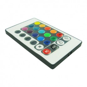 Oem - RGB LED IR Remote Controller 24 buttons + cabinet Male - LED Accessories - LCR18-M