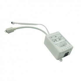 NedRo, RGB LED IR Controller Afstandsbediening 24 knoppen Male, LED Accessoires, LCR18-M, EtronixCenter.com