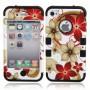 NedRo, Hawaiian Flower beschermhoes voor iPhone 4 / 4S, iPhone telefoonhoesjes, WW87010948, EtronixCenter.com