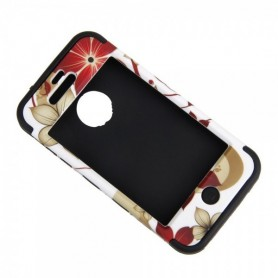 NedRo, Hawaiian Flower protective case for iPhone 4 / 4S, iPhone phone cases, WW87010948, EtronixCenter.com