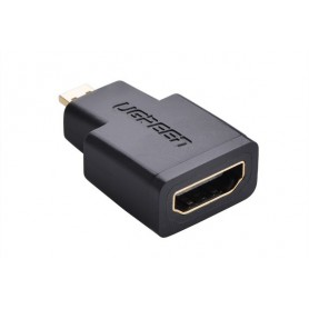 UGREEN, Micro-HDMI Male la HDMI Female Adaptor convertor Drept UG051, HDMI adaptoare, UG051, EtronixCenter.com