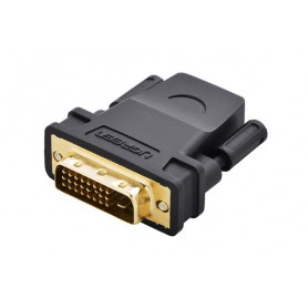 UGREEN, DVI (24+1) Male la HDMI Female Adaptor convertor UG054, HDMI adaptoare, UG054, EtronixCenter.com