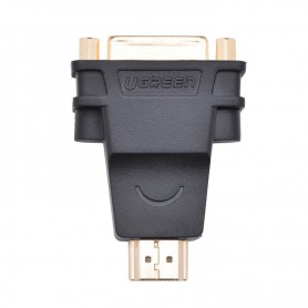 UGREEN, DVI (24+5) Female la HDMI Male Adaptor convertor UG055, HDMI adaptoare, UG055, EtronixCenter.com