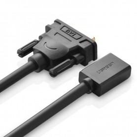 UGREEN - DVI (24+1) Male to HDMI Female Adapter Cable UG059 - HDMI adapters - UG059 www.NedRo.us