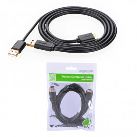 UGREEN, USB 3.0 A Male to Micro B Male Cable + charging, Cabluri USB 3.0, UG060-CB, EtronixCenter.com