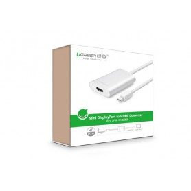 UGREEN, Mini Display Port to HDMI Converter up to 4Kx2K resolution UG065, HDMI adaptoare, UG065, EtronixCenter.com