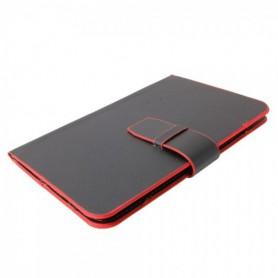 NedRo, Husa tab, tablet 7 inch book style Negru Rosu TM339, Huse iPad și Tablete, TM339, EtronixCenter.com