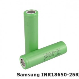 Samsung - Samsung INR18650-25R 20A - Size 18650 - NK056-CB www.NedRo.us