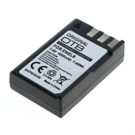 OTB, Battery for Nikon EN-EL9 / EN-EL9a 1000mAh, Nikon photo-video batteries, ON2843