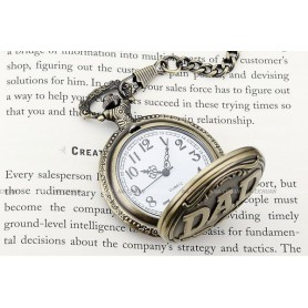 Unbranded - Pocket Watch WPK052 - Watch actions - WPK052 www.NedRo.us
