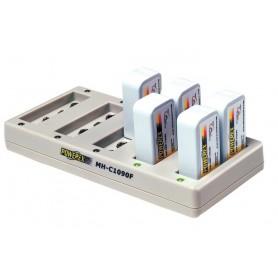 POWEREX, Încărcător Maha Powerex MH-C1090F pentru baterii 9V EU Plug, Încărcătoare de baterii, MH-C1090F, EtronixCenter.com