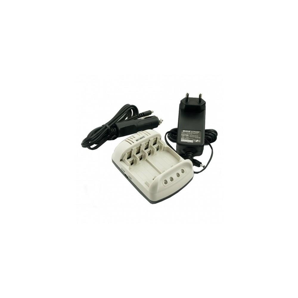 POWEREX - Maha Powerex MH-C401FS AA AAA NiMH AC/Auto Batterijlader - Batterijladers - MH-C401FS www.NedRo.nl