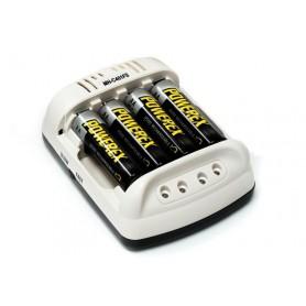 POWEREX, Maha Powerex MH-C401FS încărcător de 100 de minute cu adaptor de mașină sau AC, Încărcătoare de baterii, MH-C401FS, ...