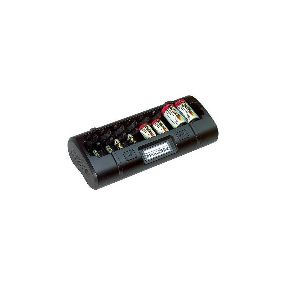 POWEREX - Încărcător Maha Powerex MH-C808M AA AAA C D NiMH NiCD - Încărcătoare de baterii - MH-C808M-C www.NedRo.ro