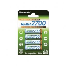 Panasonic - AA 2700mAh Panasonic Rechargeable Battery - Size AA - ON1320 www.NedRo.us