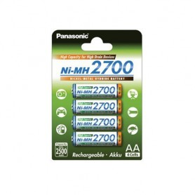 Panasonic, AA 2700mAh Panasonic Rechargeable Battery, Size AA, ON1320-CB