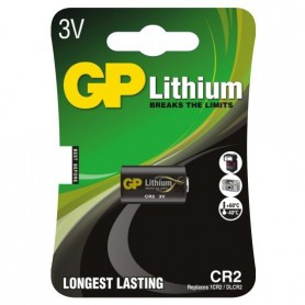 GP - GP CR2 DLCR2 EL1CR2 CR15H270 lithium battery - Other formats - BL179-CB www.NedRo.us