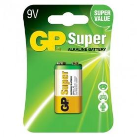 GP - GP Super Alkaline 6LR61/9V batterij BL185 - Andere formaten - BL185 www.NedRo.nl
