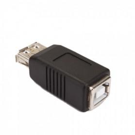 NedRo - Adapter, converter USB A vrouwtje naar USB B vrouwtje WWC02341 - USB adapters - WWC02341 www.NedRo.nl