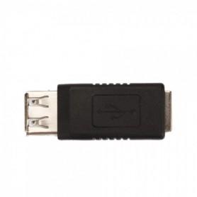NedRo - Adapter, converter USB A vrouwtje naar USB B vrouwtje - USB adapters - WWC02341 www.NedRo.nl