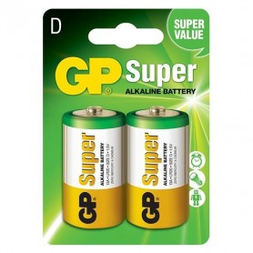 GP - GP Super Alkaline LR20/D battery - Size C D 4.5V XL - BS099-C www.NedRo.us