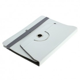 """NedRo - 10"""" Tablet PC Faux Leather Case Bookstyle - iPad and Tablets covers - ON3089-C-CB www.NedRo.us"""